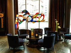Hotels with art collections: when your hotel is a museum, too! (The Blonde Salad) The Thief Oslo, Heartbreak Hotel, Scandinavian Art, World Of Interiors, Art Market, Furniture Decor, Art Deco, Interior Design, Armchairs