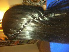 Water fall braid
