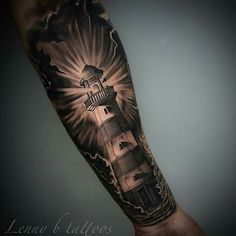 Tattoo for men on arm ideas inspiration half sleeves 25 ideas for 2019 Rib Tattoos For Women, Half Sleeve Tattoos For Guys, Full Sleeve Tattoos, Dope Tattoos, Body Art Tattoos, Ship Tattoo Sleeves, Nautical Tattoo Sleeve, Leg Tattoos Small, Light Tattoo