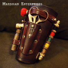 . Steampunk Sewing kit.