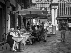 Summer morning in Genoa - An ordinary summer morning in the largest medieval…