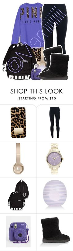 """"" by marriiiiiiiii ❤ liked on Polyvore featuring mode, Michael Kors, NIKE, River Island, UGG Australia, women's clothing, women's fashion, women, female et woman"