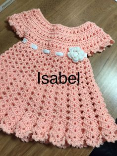 Easy to make crochet dress