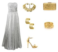 """""""Stunning evening outfit.."""" by normah on Polyvore featuring Michael Kors, Chanel, KOTUR, Bling Jewelry, Michael Antonio and RedeemedClothing"""