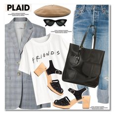"""NYFW Trend Spotting: Plaid"" by paculi ❤ liked on Polyvore featuring Kendall + Kylie, TIBI, Janessa Leone, contestentry and NYFWPlaid"