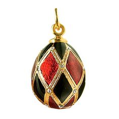 Bandit Egg Pendant Black, £56, now featured on Fab.