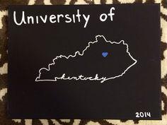 University of Kentucky canvas