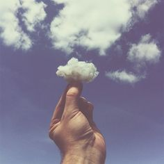 Touch the clouds..