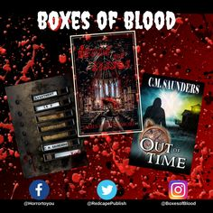 Hand-picked horror, delivered to your door. Featuring the best independent and small-press horror writers working today. Horror Books, Work Today, Writers, Blood, Boxes, Crates, Box, Authors, Cases