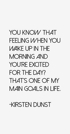 Kirsten Dunst Quotes