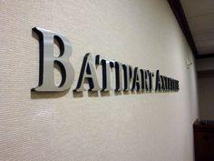 Aluminum Sign Letters Custom Bronze Metal Lettering Nyc  We Specialize In Custom Office