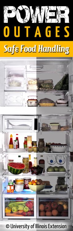 What is safe to eat after the power goes out? Pin now to be prepared for future power outages.