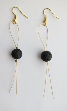 Category: Earrings Icelandic Lava Earrings Packing: 1 pair of earrings Style: Fashion Each pair wil fashion Icelandic Lava Earrings Fashion Earrings, Beaded Earrings, Earrings Handmade, Beaded Jewelry, Handmade Jewelry, Fashion Jewelry, Style Fashion, Handmade Items, Gold Fashion
