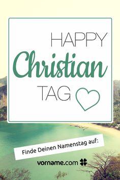 Namenstag Christian
