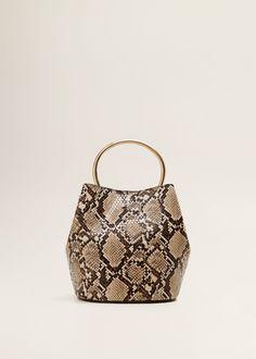 d0aaee4c6503 Metallic handle bag - Women