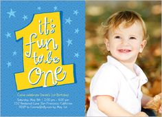The First Year Boy 5x7 Photo Card by Shutterfly