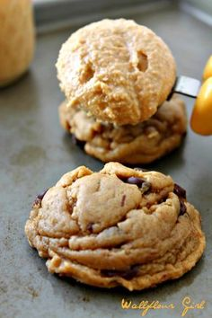 My Favorite Puffy, Chewy Peanut Butter Chocolate Chip Cookie 29--022114