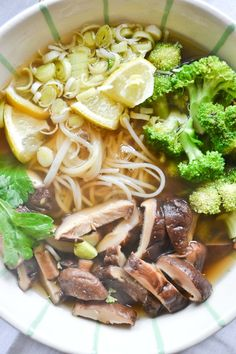 Vietnamese Pho Soup - vegan and gluten free