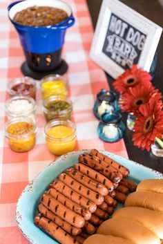 Memorial Day Hot Dog Bar