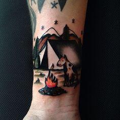 Katya Krasnova Tattoo