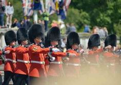 Changing Of The Guards At Bucking Ham Palace London