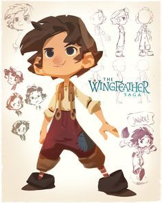 As Production Designer for the Wingfeather Saga pilot, I& also designed the principle cast of ragamuffin little lovies and I, excited to be allowed to share a little look behind the scenes of each Boy Character, Character Creation, Character Drawing, Character Illustration, Character Concept, Concept Art, Character Sketches, Character Sheet, Cute Characters