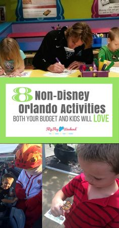 Keri|flipflopweekend You saved to Top Blogs - Pinterest Viral Board Planning a Florida vacation, but looking for non-Disney things to do? These affordable, family friendly Orlando activities will please both your kids and your budget! Some of them are obvious, while others fly a bit more 'under the radar.' No Mouse ears required!
