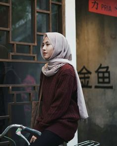 Casual Hijab Outfit, Ootd Hijab, Hijab Fashion, Candid, Poses, Dragon Nest, Celebrities, Outfits, Girls