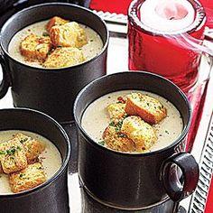 Roasted Garlic Soup Recipe | MyRecipes.com