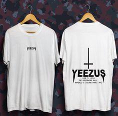 Yeezus tour tshirt life of pablo kanye west shirt 785bd273f90