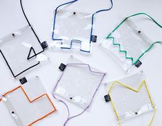 Computer Backpack, Transparent Bag, Plastic Design, Clear Bags, Mellow Yellow, Packaging Design Inspiration, Brand Packaging, Pouch, Branding