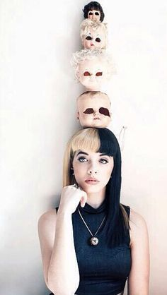 """Bitch you know who] """"Hi I'm Melanie. I'm a singer. I like to dance and shit. I'm bi and I like doggos. Cry Baby, Van Gogh Pinturas, Indie, Babe, Art For Art Sake, Woman Face, Maggie Lindemann, Crying, Celebs"""