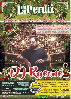 "(Bizkaia) ""LA PERDIZ"". ""DJ RAEONE"". Fiesta Pre-Noche Buena. Bar-Restaurante Portugalete. Bar, Family Day, Leaving Work, Partridge, Hamburgers, Entertainment"