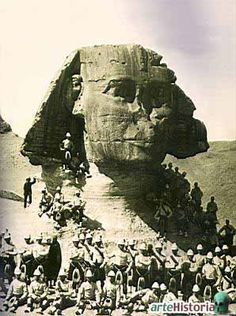 The British Occupation of Egypt from 1882 - 1923 although the British troops did not leave Egypt until 1956
