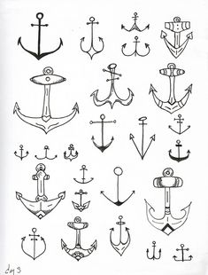 Love me some anchor tattoos.