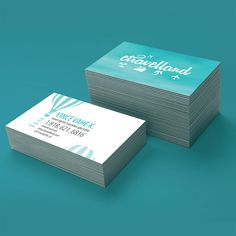 Travel Agency Business Card Design