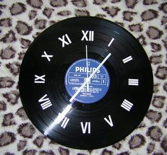 Forever and Ever 300mm Vinyl Wall Clock by Klicknc on Etsy
