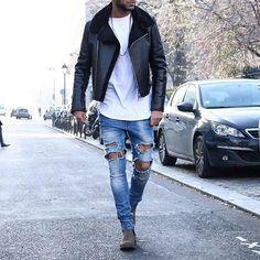 Street Outfit.  #hoodsfashion