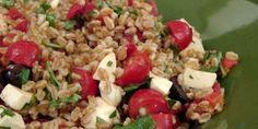 Farro Salad - Ancient Mediterranean Grain - Italian Cook Laura Vitale - Everybody Loves Life