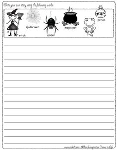 Creative writing 2nd grade