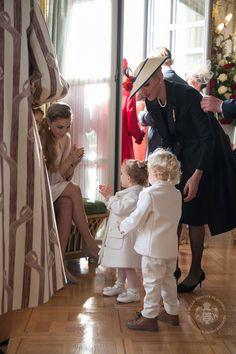 Monaco Princely Family Celebrate National Day Nov. 19, 2016: Charlene, Gabriella and Jacques