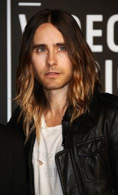 Jared Leto...oh my he just took my breath away♡ Enjoying his flawless handsome face for my eyes!
