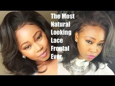 Lace frontal Sew in Weave on Natural hair! - No Glue - Los Angeles Hair Salon 'Stylist Lee' - YouTube