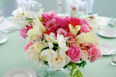 #Reception wedding table arrangement.