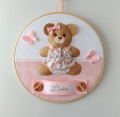 Diy Home Crafts, Baby Crafts, Felt Crafts, Crafts For Kids, Nursery Bunting, Bunny Birthday, Felt Patterns, Embroidery Hoop Art, Felt Art