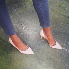 Jessica Simpson nude heels!! Always wanted a pair a nude heels!!