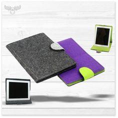 Tablet Tasche aus Filz, schön und robust. Viele Farbvariationen, Individualisierung mit Firmenlogo.
