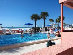 Miramar Resort overlooks the beautiful Gulf of Mexico in St Pete Beach Florida