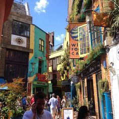 Neal's Yard, Covent Garden. #london #travel #holidays #coventgarden