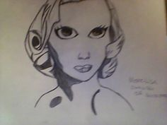 """So I go up to my mom and say, """"Hey mom, what should I draw?"""" and no hesitation what-so-ever, """"Marilyn Monroe. What Should I Draw, Marilyn Monroe Art, Weird, Sculptures, Deviantart, Mom, Drawings, Painting, What To Draw"""